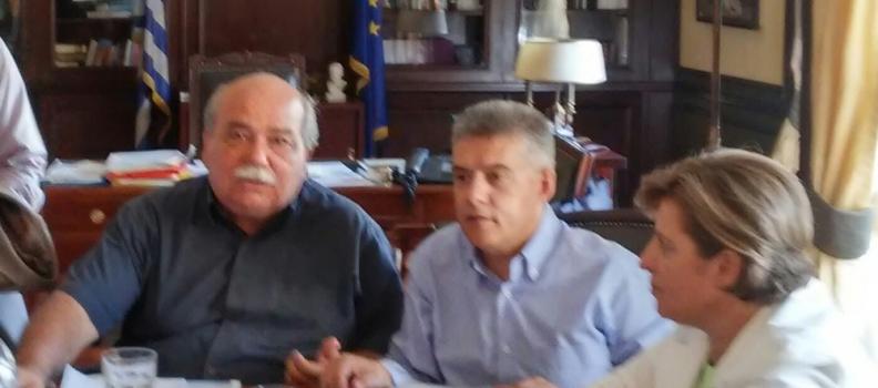 Περισσότερους πόρους για το Βόρειο Αιγαίο ζήτησε η Περιφερειάρχης από τον Υπουργό Εσωτερικών
