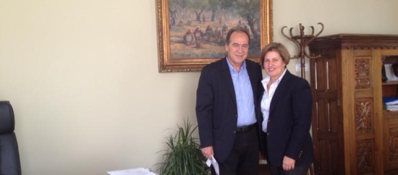 Συνάντηση με το Γενικό Γραμματέα Αιγαίου και Νησιωτικής Πολιτικής κ. Νίκο Ζωίδη είχε σήμερα η Χριστιάνα Καλογήρου