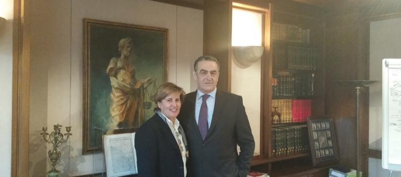 Συνάντηση με τον Υπουργό Δικαιοσύνης είχε η Περιφερειάρχης Βορείου Αιγαίου