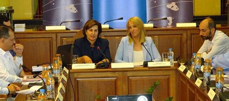 Συνέντευξη τύπου Περιφερειαρχών Βορείου Αιγαίου και Αττικής