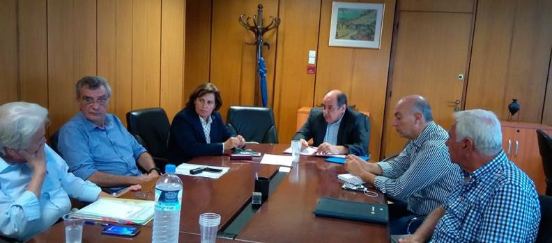 """Το θέμα της παραχώρησης των Ιαματικών Λουτρών και του ξενοδοχείου """"Σάρλιτζα Παλλάς"""" συζητήθηκε σε ευρεία σύσκεψη"""