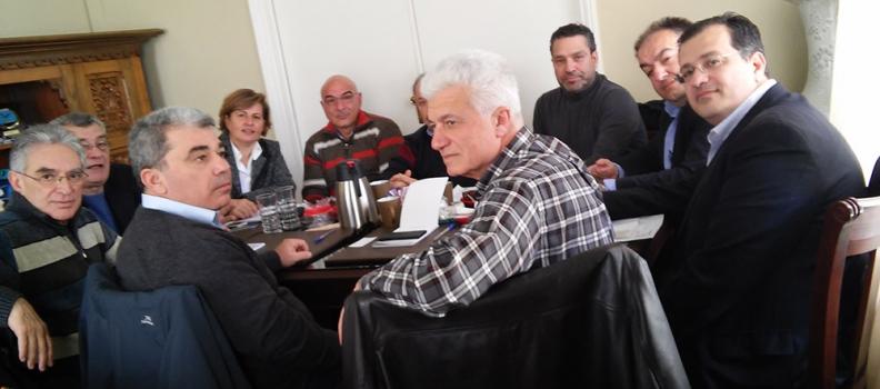 Με πρωτοβουλία της Χριστιάνας Καλογήρου πραγματοποιήθηκε σύσκεψη για την Πύλη Εισόδου στο Πλωμάρι