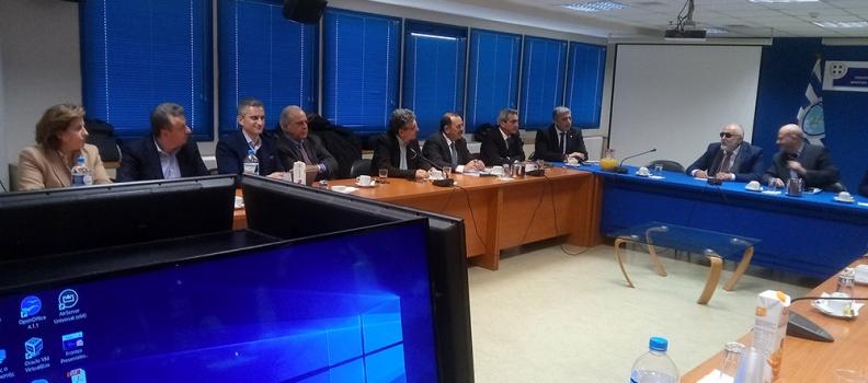 Σε σύσκεψη για θέματα εδαφικής συνοχής και ανάπτυξης των νησιωτικών περιοχών συμμετείχε η Περιφερειάρχης