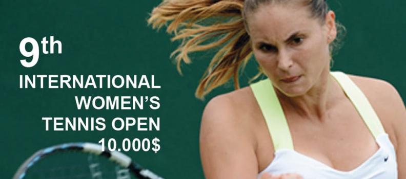 Το επίσημο διεθνές τουρνουά τένις γυναικών, «ΟΤΕ OPEN INTERNATIONAL TENNIS MITILENE 2015», ξεκινά την προσεχή Δευτέρα στη Μυτιλήνη