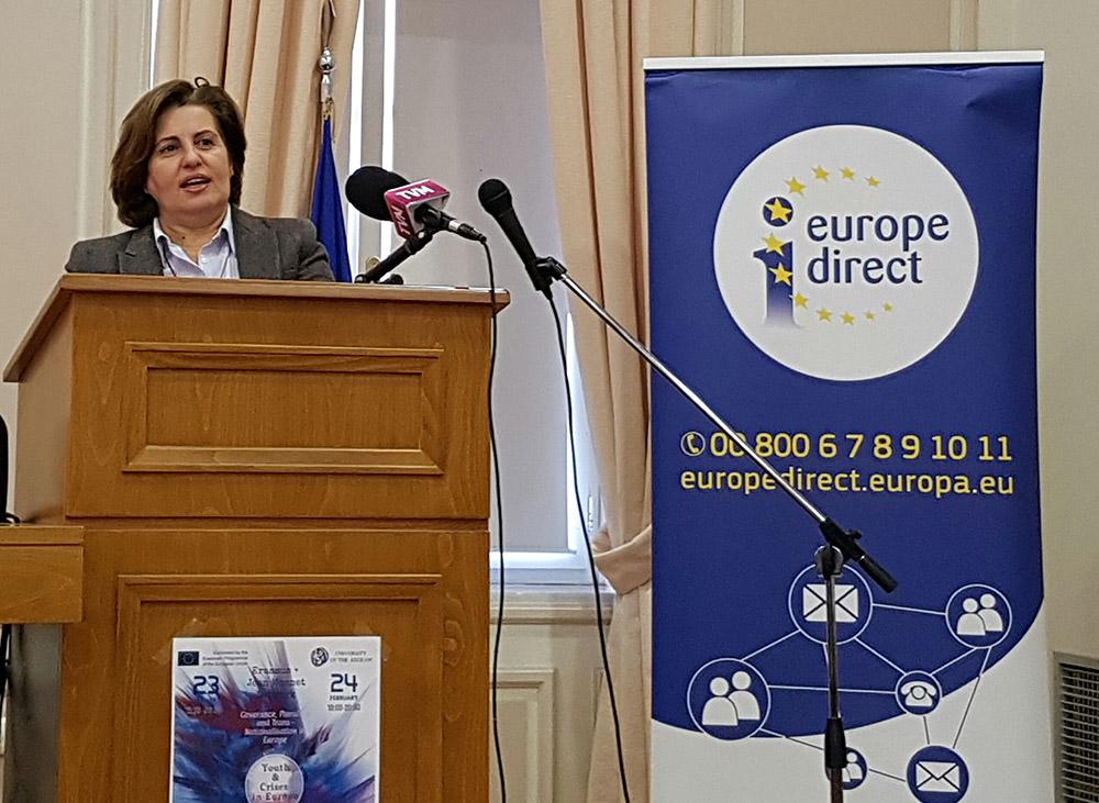 Ομιλία της Περιφερειάρχη σε διεθνές συνέδριο του Πανεπιστημίου Αιγαίου