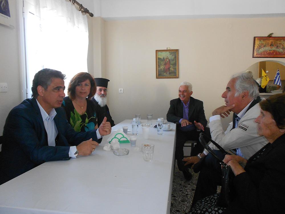 Το χωριό Πισπιλούντα Χίου επισκέφθηκε ο βουλευτής και υποψήφιος Αντιπεριφερειάρχης Χίου Σταμάτης Κάρμαντζης