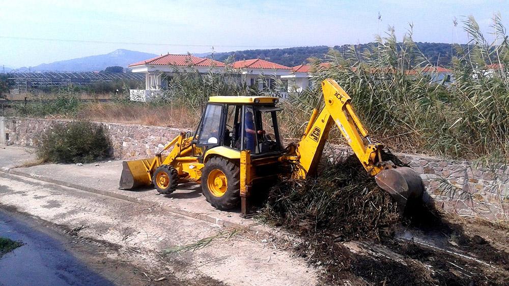 250.000 ευρώ για τον καθαρισμό χειμάρρων των Δ.Ε. Μυτιλήνης – Θερμής στη Λέσβο από την Περιφέρεια Βορείου Αιγαίου