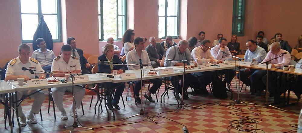 Συμμετοχή της Περιφερειάρχη στη συνεδρίαση του Συμβουλίου Ακτοπλοϊκών Συγκοινωνιών