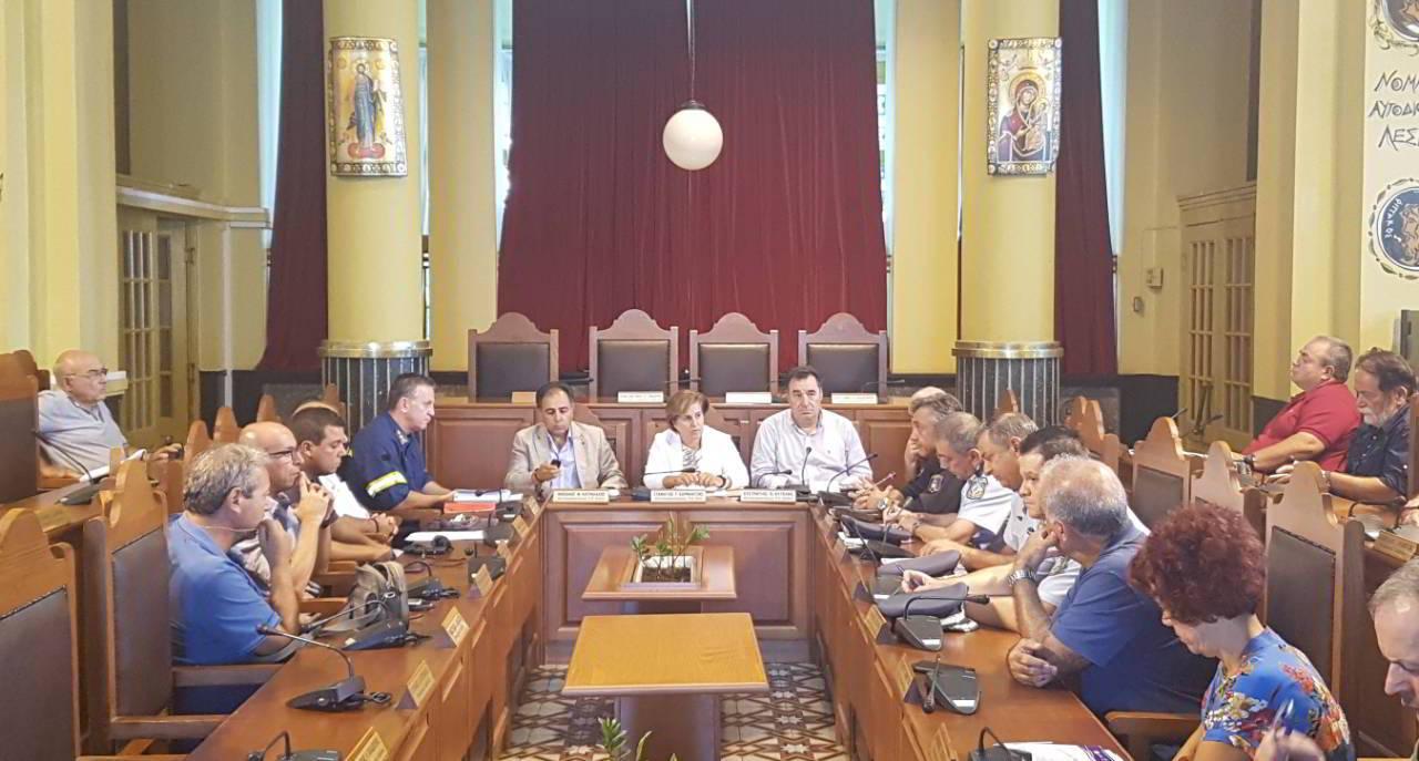 Έκτακτη συνεδρίαση του Συντονιστικού Οργάνου Πολιτικής Προστασίας