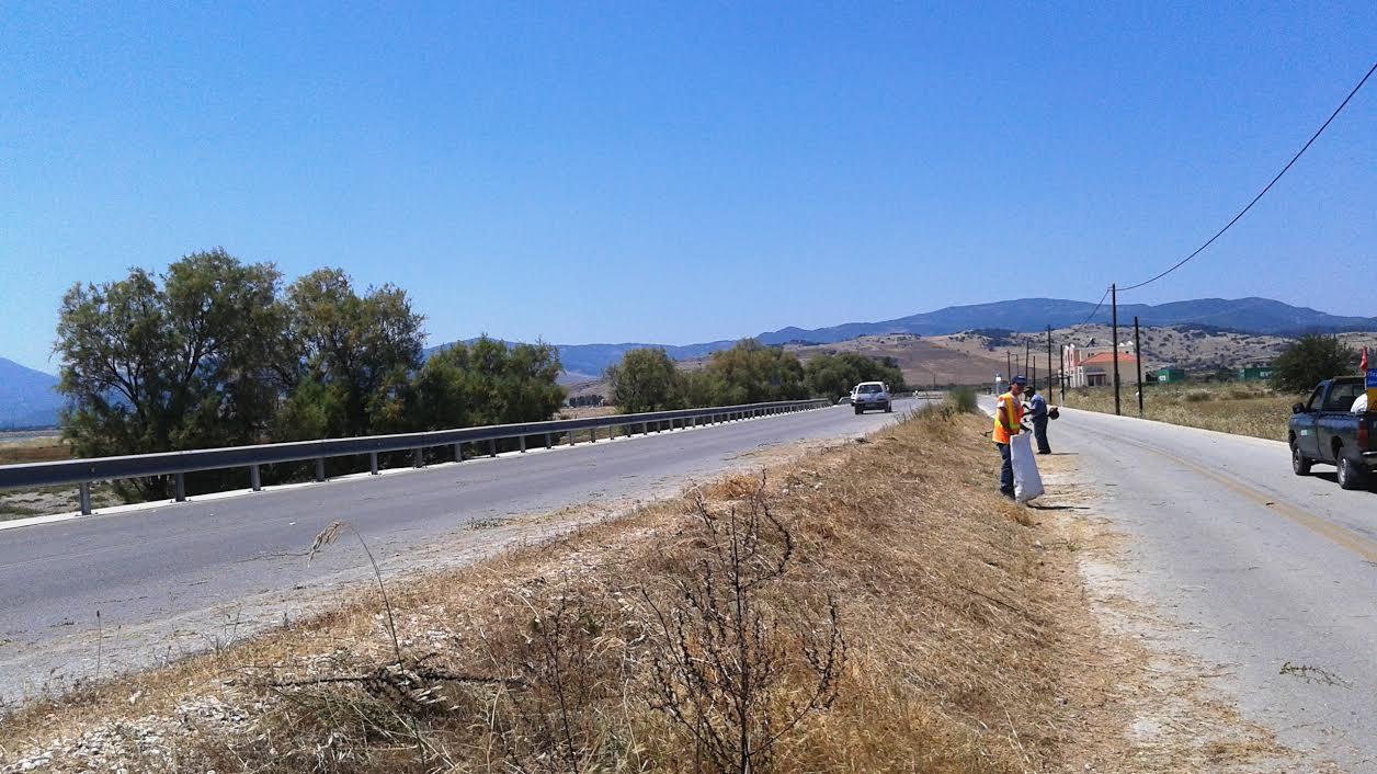 1,7 εκατ. ευρώ από την Περιφέρεια Βορείου Αιγαίου για τη συντήρηση επαρχιακών οδών στη βόρεια Λέσβο