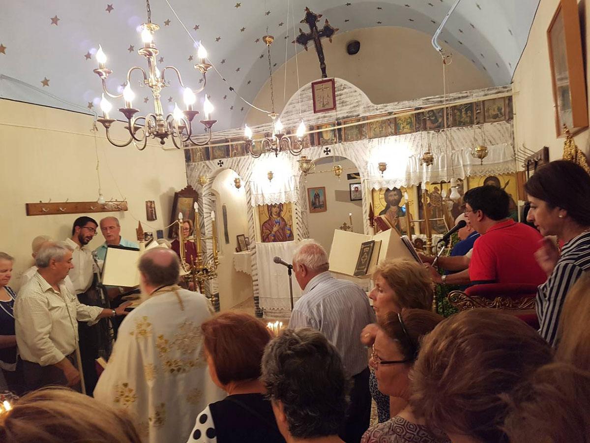 Στη Χίο η Χριστιάνα Καλογήρου